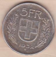 SUISSE. 5 Francs 1931 B , En Argent - Schweiz