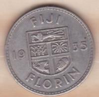 FIJI / FIDJI . 1 Florin 1935. George V , En Argent - Fidji
