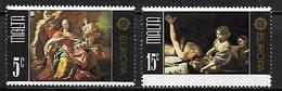 MALTE    -   1975 .   Y&T N° 507 / 508 **.    EUROPA.  Tableaux.  Série Complète - Malta