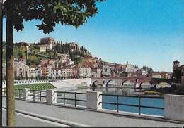 PONTE PIETRA - VERONA - VIAGGIATA 1964 - Ponti