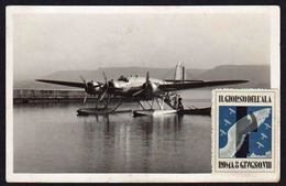 ITALIE: Aviation. Vignette Il Giorno Dell' Ala Roma 8 Giugno An VIII (1929).... - 1900-44 Victor Emmanuel III