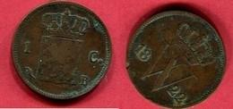1 CENTS    ( KM 47 ) TB 1,5 - [ 3] 1815-… : Royaume Des Pays-Bas