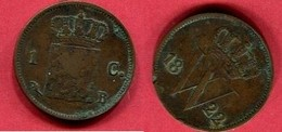 1 CENTS    ( KM 47 ) TB 1,5 - [ 3] 1815-… : Kingdom Of The Netherlands