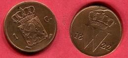 1 CENTS    ( KM 47 ) TTB 5 - [ 3] 1815-… : Royaume Des Pays-Bas