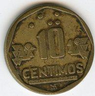Pérou Peru 10 Centimos 1996 KM 305.1 - Pérou