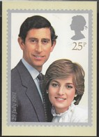 INGHILTERRA - THE ROYAL WEDDING - CARLO E DIANA  -  EDIT. HOUSE OF QUESTA 1980 - NUOVA - Francobolli (rappresentazioni)