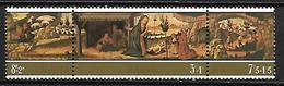 MALTE    -   1975 .   Y&T N° 513 à 515 ** .  Noël.  La Nativité Du Maître Alberto. - Malta