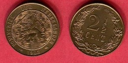 2 1/2  CENTS    ( KM 134 ) TTB 2,5 - [ 3] 1815-…: Königreich Der Niederlande