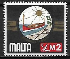 MALTE    -   1976 .   Y&T N° 519 ** .  Emblème National. - Malta