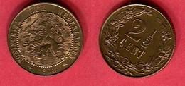 2 1/2  CENTS    ( KM 134 ) TTB 2,5 - 2.5 Cent