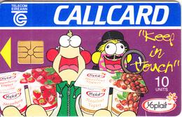 IRELAND - Yoplait Yogurt, Chip GP1, 09/96, Used - Ireland