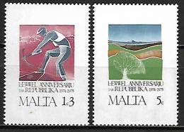 MALTE    -   1975 .   Y&T N° 516 / 517 ** . - Malta