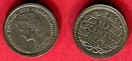 10  CENTS    ( KM 145 ) TB+ 2,5 - [ 3] 1815-… : Royaume Des Pays-Bas
