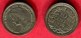 10  CENTS    ( KM 145 ) TB+ 2,5 - [ 3] 1815-… : Kingdom Of The Netherlands