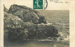 Belle Ile En Mer - Carte Photo - Roche Percée , Près De Port Jean - AA190 - Belle Ile En Mer