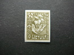 Lietuva Lithuania Litauen Lituanie Litouwen # 1921 MH # Mi.92U - Lithuania