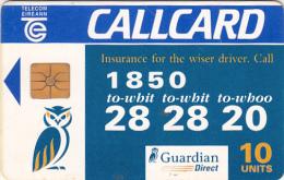 IRELAND - Guardian Direct Insurance, Chip GP1, 07/95, Used - Ireland