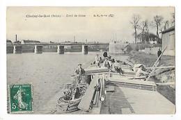 CHOISY Le ROI  (cpa 94)  Bord De Seine    -  L 1 - Choisy Le Roi