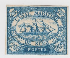 EGYPT CANAL SUEZ N° 3  SIGNED CALVES  / 1520 - Égypte
