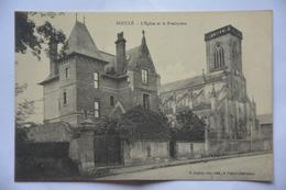DOZULE -eglise Et Presbytere - France