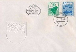 DDR - 24 11  1958 BAU DES SEEHAFENS ROSTOCK - [6] Repubblica Democratica