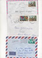 Benin_3 Letters 1994-99 - Bénin – Dahomey (1960-...)