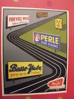 Grand Autocollant Publicitaire Bière D'alsace Freysz Champigneulles Basse-yutz . Marcel Jost Strasbourg Vers 1950-60. - Autocollants