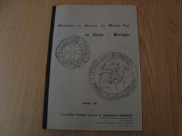 DOCUMENT MONNAIES ET SCEAUX DU MOYEN-AGE EN ANJOU BRETAGNE - Livres & Logiciels