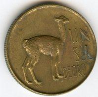 Pérou Peru 1 Sol 1967 KM 248 - Pérou