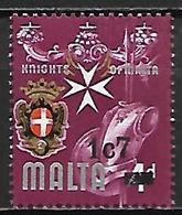 MALTE    -   1977 .   Y&T N° 540**.   Surchargé - Malta
