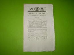 Juillet 1794 Lois An 2: Guillotine Pour Général Lavalette,Boulanger,Robespierre,Couthon,Lebas,Dumas... Dans La Journée. - Gesetze & Erlasse