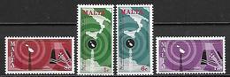 MALTE    -   1977 .   Y&T N° 545 à 548 **.   Télécommunications.   Série Complète - Malta