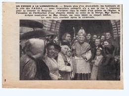Un évèque à LONGUEVILLE - France