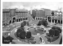 Bologna. Piazza Martiri E Via Amendola. Scritta Birra Pedavena Su Tendone A Sinistra. - Bologna