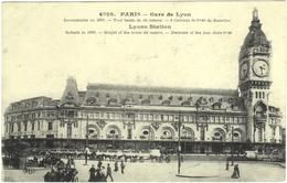 CPA DE PARIS XII. GARE DE LYON - Pariser Métro, Bahnhöfe