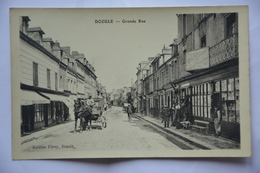 DOZULE-grande Rue-le Petit Journal-caleche-animee - Frankrijk