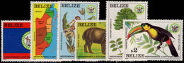Belize 1981-82 Independence Commemoration Unmounted Mint. - Belize (1973-...)