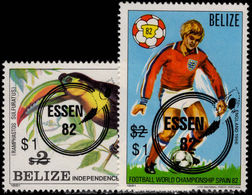 Belize 1982 Essen Stamp Exhibition Unmounted Mint. - Belize (1973-...)