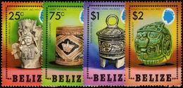 Belize 1984 Mayan Artefacts Unmounted Mint. - Belize (1973-...)