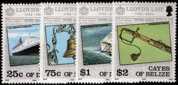 Cayes Of Belize 1984 Lloyds List Unmounted Mint. - Belize (1973-...)