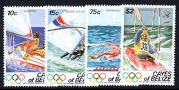 Cayes Of Belize 1984 Summer Olympics Unmounted Mint. - Belize (1973-...)