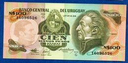 Uruguay  --  100 Nuevos Pesos    --    Pick # 62 A  -  état  UNC - Uruguay