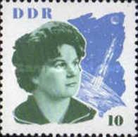 DDR - The Visit Of Valentina Tereschkova And Gagrain- 1963 - [6] Democratic Republic