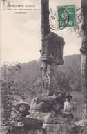 Corrèze - Peyrelevade - La Croix Des Templiers Dite Croix Du Mouton - Autres Communes