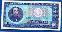 Roumanie   --  100 Lei 1966     --    Pick # 97 -  état  TTB - Roumanie