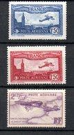 L France PA N° 5 à 7 ** Cote 141 Euros . A Saisir !!! - 1927-1959 Nuevos