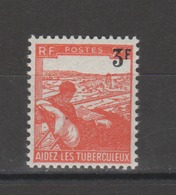 FRANCE / 1946 / Y&T N° 750 ** : Tuberculeux 3F - Gomme D'origine Intacte - France