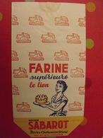 Sac En Papier Farine Supérieure Le Lion, Maison Sabarot, Brives-Charensac (haute-Loire). Vers 1950-60. - Publicité