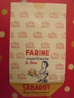 Grand Sac En Papier Farine Supérieure Le Lion, Maison Sabarot. Brives-Charensac (haute-Loire). Vers 1950-60. - Publicité