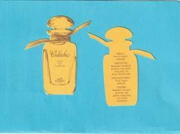 Réplique Semi-ancienne De **Calèche** D'HERMES  R/V - Perfume Cards